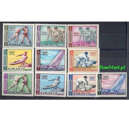 Ajman / Adżman 1965 Mi 31-40 Czyste **