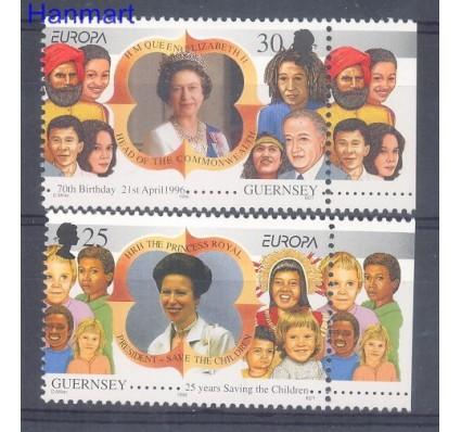Znaczek Guernsey 1996 Mi zf 691-692 Czyste **