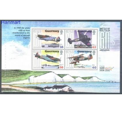 Znaczek Guernsey 2000 Mi h-blatt 67 Czyste **