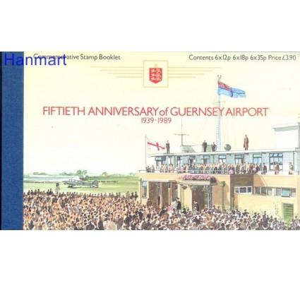 Znaczek Guernsey 1989 Mi mh O-7 Czyste **