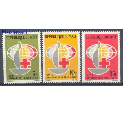 Mali 1963 Mi 69-71 Czyste **