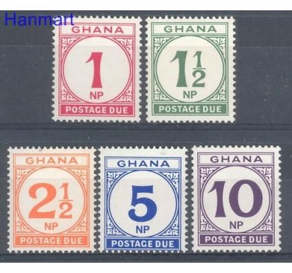 Znaczek Ghana 1970 Mi 19-23 Czyste **