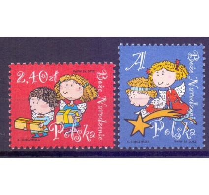 Znaczek Polska 2012 Mi 4591-4592 Fi 4441-4442 Czyste **