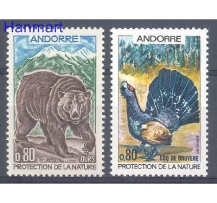 Andora Francuska 1971 Mi 230-231 Czyste **