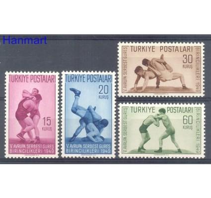 Turcja 1949 Mi 1231-1234 Czyste **