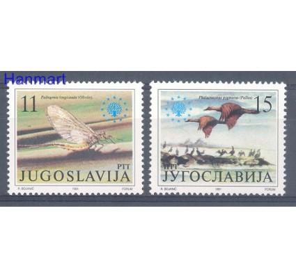 Znaczek Jugosławia 1991 Mi 2503-2504 Czyste **