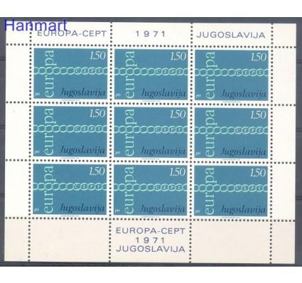 Jugosławia 1971 Mi ark 1416 Czyste **