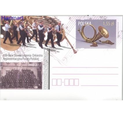 Znaczek Polska 2012 Fi Cp 1624 Całostka pocztowa