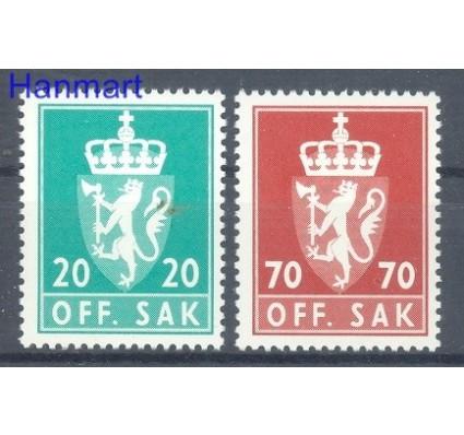 Norwegia 1982 Mi die 116-117 Czyste **