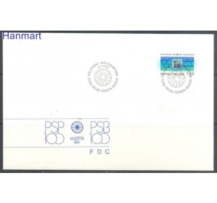 Finlandia 1987 Mi 1009 FDC