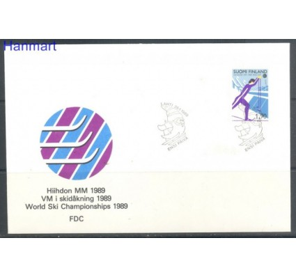 Znaczek Finlandia 1989 Mi 1070 FDC