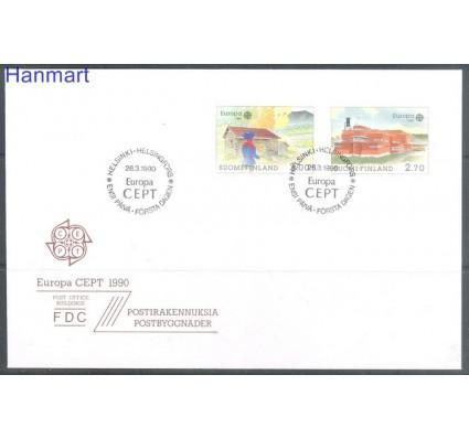 Znaczek Finlandia 1990 Mi 1108-1109 FDC