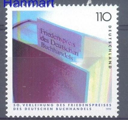 Znaczek Niemcy 1999 Mi 2075 Czyste **