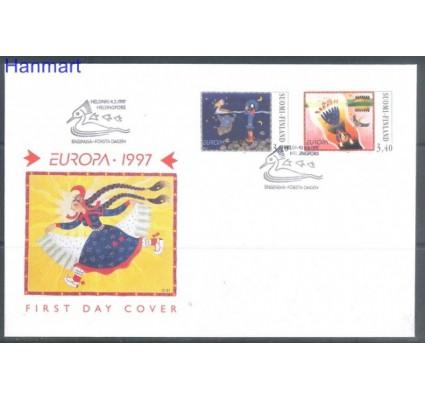 Znaczek Finlandia 1997 Mi 1378-1379 FDC