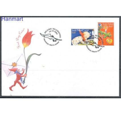 Znaczek Finlandia 2004 Mi 1725-1726 FDC