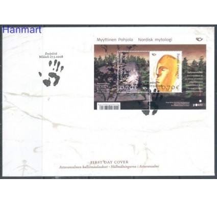 Znaczek Finlandia 2008 Mi bl 49 FDC