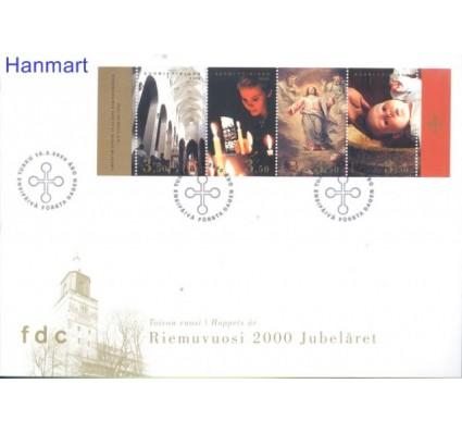 Znaczek Finlandia 2000 Mi blatt 62 FDC