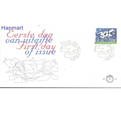 Znaczek Holandia 1995 FDC