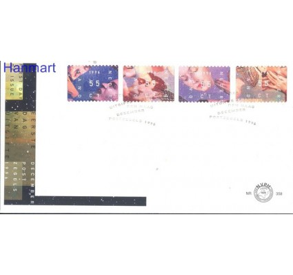 Znaczek Holandia 1996 Mi 1599-1602 FDC