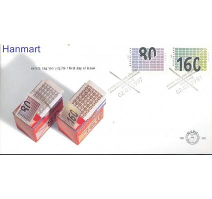 Znaczek Holandia 1997 Mi 1603-1604 FDC