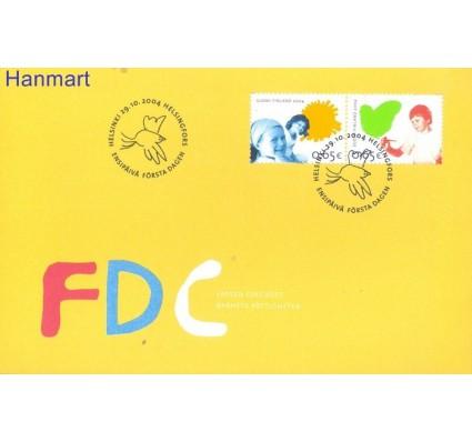 Znaczek Finlandia 2004 Mi 1723-1724 FDC