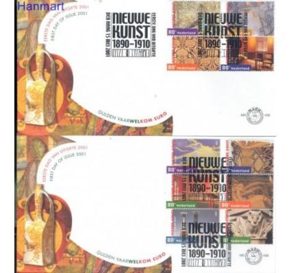Znaczek Holandia 2001 Mi 1885-1894 FDC