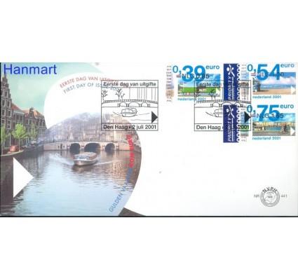 Znaczek Holandia 2001 Mi 1901-1903 FDC