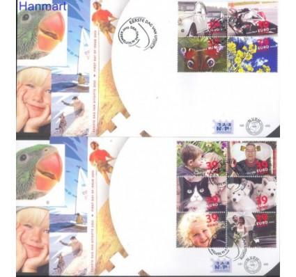 Znaczek Holandia 2003 Mi 2139-2148 FDC