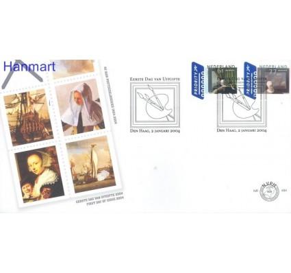 Holandia 2004 Mi 2191-2192 FDC