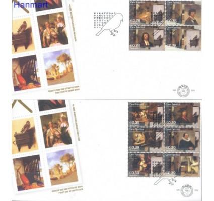 Znaczek Holandia 2004 Mi 2238-2247 FDC