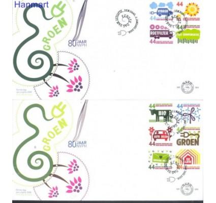 Znaczek Holandia 2008 Mi 2552-2561 FDC