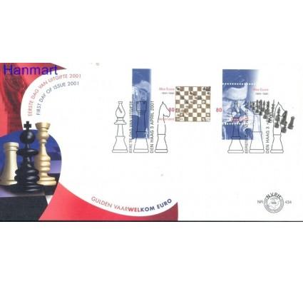 Znaczek Holandia 2001 Mi bl 68 FDC