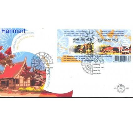 Znaczek Holandia 2001 Mi bl 71 FDC