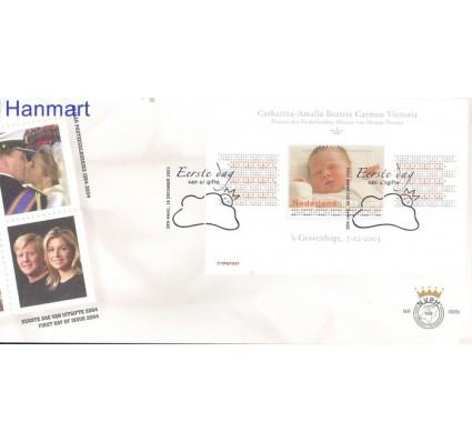 Znaczek Holandia 2003 Mi bl 80 FDC