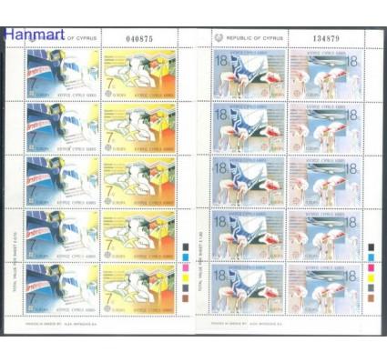 Znaczek Cypr  1988 Mi 695-698 Czyste **
