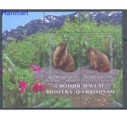 Znaczek Uzbekistan 2012 Mi bl 65 Czyste **