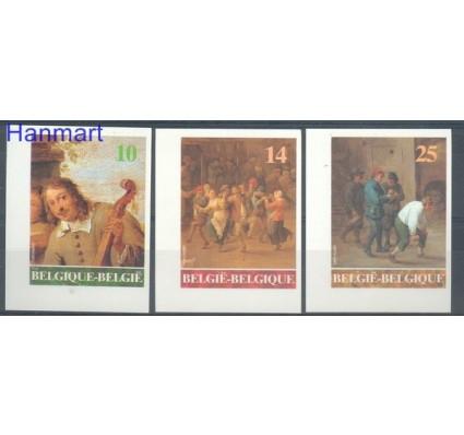 Znaczek Belgia 1990 Mi 2445-2447B Czyste **