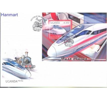 Uganda 2012 Mi bl 391 FDC