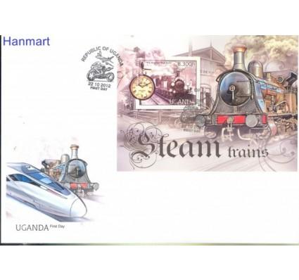 Znaczek Uganda 2012 Mi bl 390 FDC