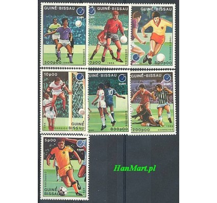 Znaczek Gwinea Bissau 1988 Mi 943-949 Czyste **