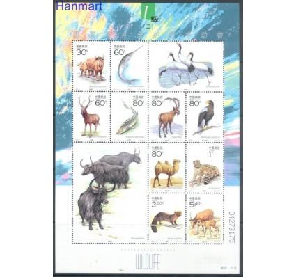 Znaczek Chiny 2001 Mi ark 3219-3228 Czyste **
