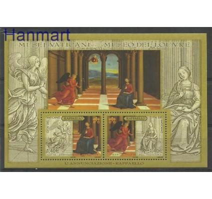 Znaczek Watykan 2005 Mi bl 26 Czyste **