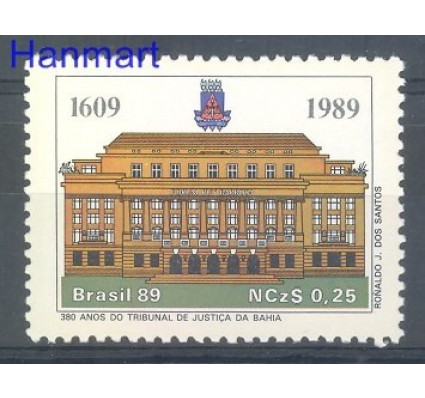 Znaczek Brazylia 1989 Mi 2287 Czyste **