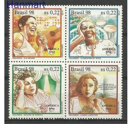 Znaczek Brazylia 1998 Mi 2809-2812 Czyste **