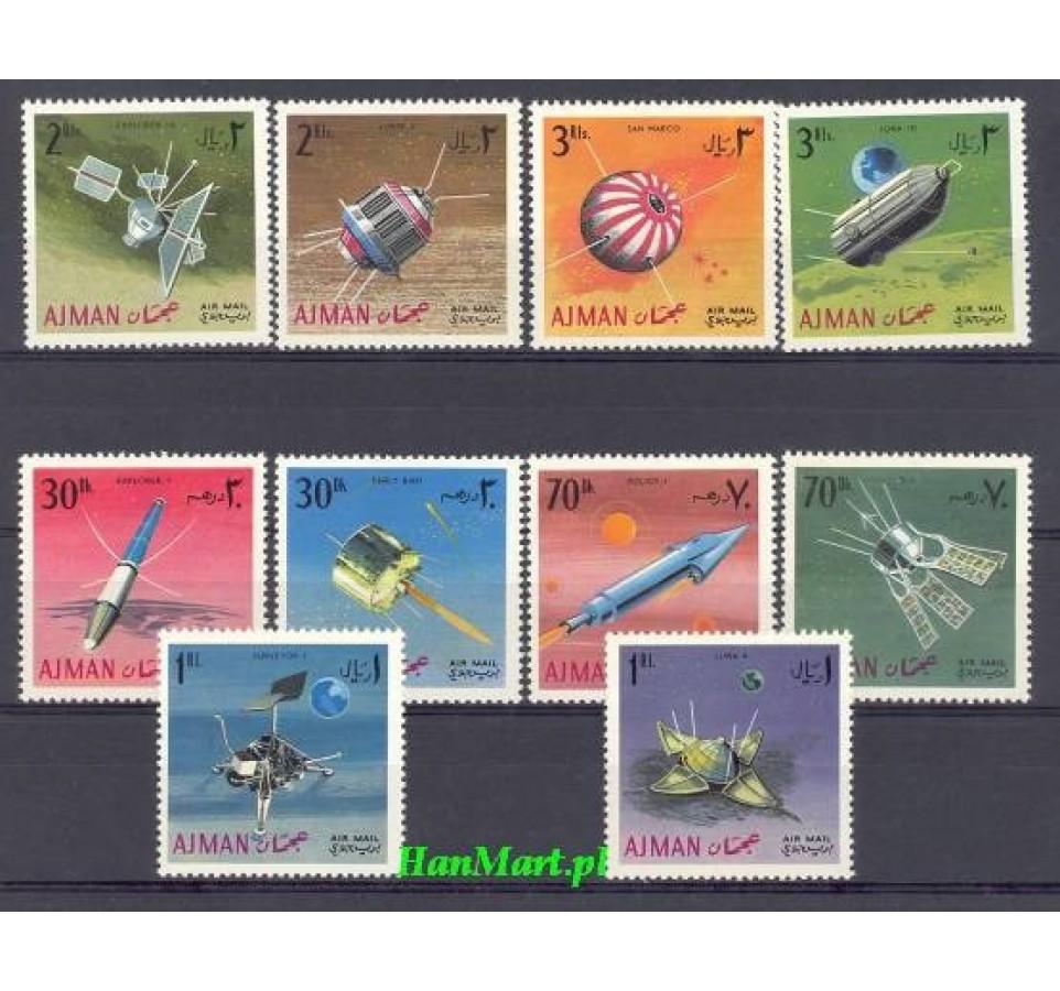 Ajman / Adżman 1968 Mi 257-266 Czyste **