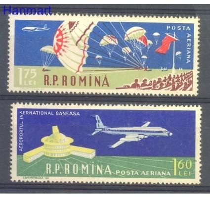 Znaczek Rumunia 1960 Mi 1866-1867 Czyste **