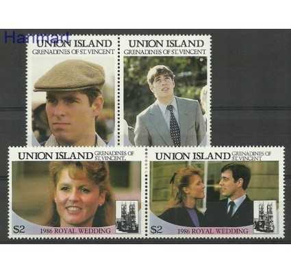 Znaczek Union Islands 1986 Czyste **