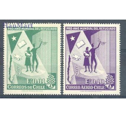 Chile 1960 Mi 573-574 Czyste **