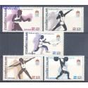 Tajlandia 1985 Mi 1132-1136 Czyste **