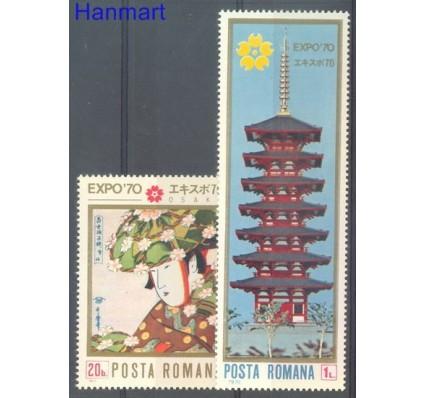 Znaczek Rumunia 1970 Mi 2838-2839 Czyste **